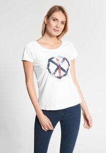 """Damen T-shirt aus Bio Baumwolle """"Sara"""" weiß - SHIRTS FOR LIFE"""
