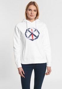 """Damen Sweatshirt aus Bio Baumwolle & rec. Polyester """"Leonie Spinnrad"""" - SHIRTS FOR LIFE"""