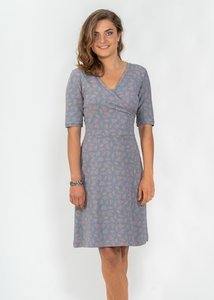 Kleid Hanna mit Ärmeln - Green Size