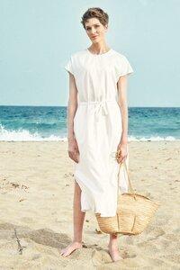 Dress Nina White - Damenkleid aus Bio-Baumwolle - Sophia Schneider-Esleben