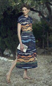 Dress Nina Mare e Monti Blue - Damenkleid aus Bio-Baumwolle - Sophia Schneider-Esleben
