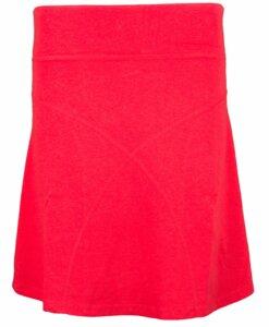 Daily Skirt aus Hanf - chili red - Uprise