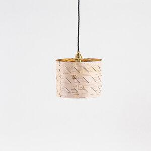 Hängeleuchte Esstisch-Lampe / Pendelleuchte aus Birkenrinde Ø25cm - MOYA Birch Bark