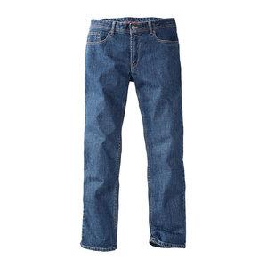 Herren Jeans Manchester Mittelblau - brainshirt