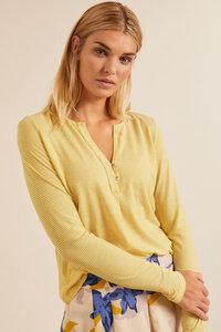 Langarmshirt mit Streifen aus Bio-Baumwolle GOTS - LANIUS