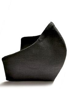 Mund-Nasen-Maske, Leinen 3-lagig mit Einlage - SCHAZAD