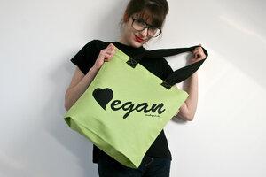 Vegane denkefair-Tasche 'APFEL' - denkefair