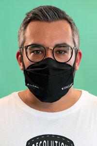 Mund- und Nasen- Maske aus Bio Baumwolle | Face Mask #STAYSAFE - recolution