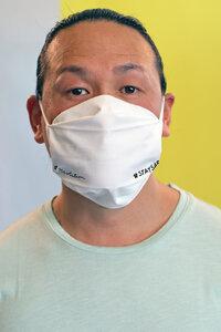Mund- und Nasen- Maske aus Bio Baumwolle | Face Mask Set of 3 #STAYSAFE - recolution