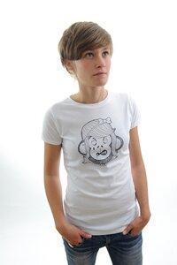 "Women T-Shirt ""Apegirl"" - DISKO"