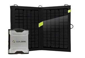 Sherpa 50 Solar Recharging Kit - Solarladegerät - GoalZero