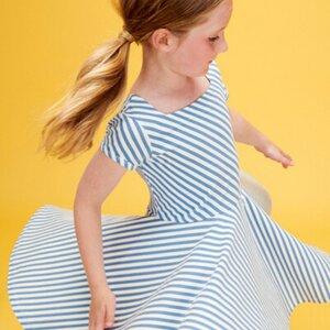 Lily Balou Tanzkleid diagonal stripes - Lily Balou