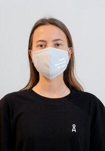 REDAAV 2.0 OC FOR YOU Unisex Behelfs-Mund-Nasen-Maske aus Bio-Baumwolle - ARMEDANGELS
