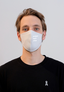 REDAAV 2.0 OC PROTECT Unisex Behelfs-Mund-Nasen-Maske aus Bio-Baumwolle - ARMEDANGELS