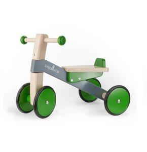 Bajo Baby Rutscher grün stabil und wunderschön für Ihre Kleinen   - BAJO Holzspielzeug
