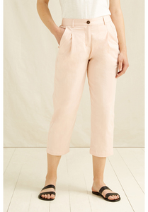 Anwen cropped Hose in Rosa - People Tree