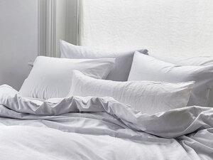 Bettwäscheset Baumwolle Tencel wendbar zweifarbig - Yumeko