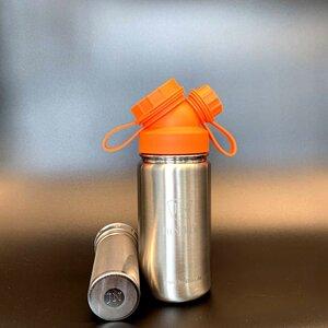 JuNiki´s®  eco line isolierte Edelstahl Trinkflasche 420ml + Teefilter in 8 Farben - JN JuNiki's