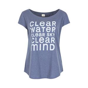CLEAR - Damen - loose-cut T-Shirt für Yoga und Freizeit aus Biobaumwolle - Jaya