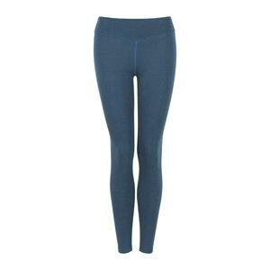 LORA - Damen - Leggings für Yoga und Freizeit aus Biobaumwolle - Petrol - Jaya