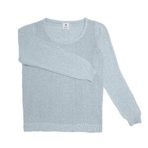 Upgecycelter Pullover für Frauen aus Denim-Baumwolle Classic  - Rifò - Circular Fashion