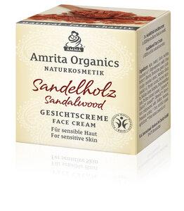 Sandelholzcreme BDIH & Vegan - Amrita Organics