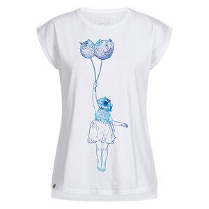 Floating Puffer Fish Damen Beach Shirt - Lexi&Bö