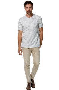 Basic-Shirt aus edelster Pima-Baumwolle und Alpaka  - Apu Kuntur
