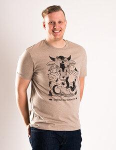 Defend the innocent - Unisex T-Shirt - Róka - fair clothing
