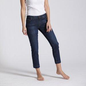 7/8  Slim Fit  Mid Waist Jeans SIV  - Feuervogl