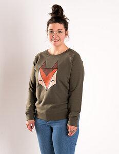 Róka - Logo Pullover Fuchs - Frauen - Róka - fair clothing