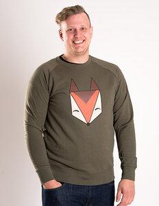 Róka - Logo Pullover Fuchs - Männer - Róka - fair clothing