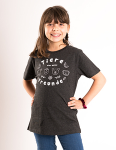 Tiere sind meine Freunde - Kinder T-Shirt - Róka - fair clothing