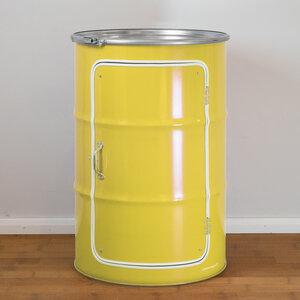 Schränk - Der Schrank aus einem Ölfass - Lockengelöt