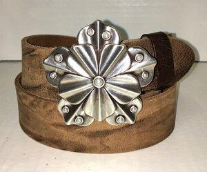 TRINITY - Handgemachter Ledergürtel  - SaSch belt & bags