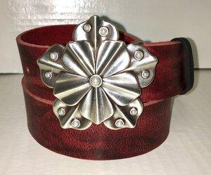 CATWOMAN - Handgemachter Ledergürtel  - SaSch belt & bags
