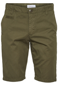 CHUCK regular chino poplin shorts - Knowledge Cotton Apparel