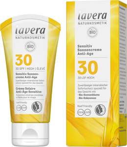 Sensitiv Sonnencreme Anti-Age LSF 30 - Lavera