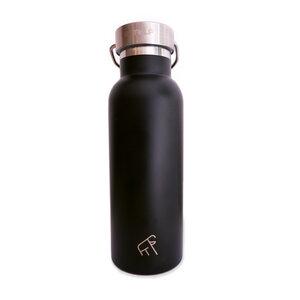 Thermosflasche 500 ml aus Edelstahl GOATY - schwarz - dressgoat