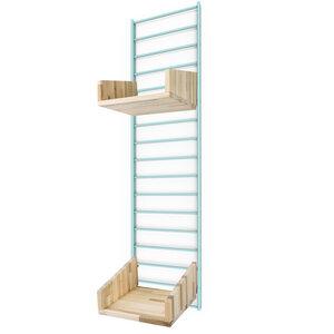 Nachhaltiges Wandregal FENCY - Paket mit Stecksystem 80 x 20 cm palletten holz - Tolhuijs Design