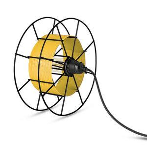 Stehleuchte Spool upcycling Basic schwarz - Tolhuijs Design