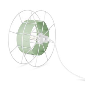 Stehleuchte Spool upcycling Basic weiss - Tolhuijs Design