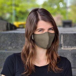 "Nachhaltige Stoffmaske ""Goodkarma"" Eukalyptus, Größe M, 1+1 - Goodgive"