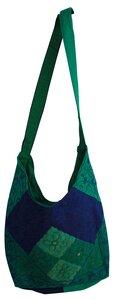 Patchworktasche aus Dhakastoffen - Reciclage