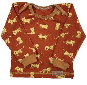 Babyshirt aus Biojersey kleiner Tiger - Omilich
