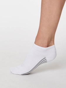 Solid Jane Sustainable Bamboo Ankle Socks                        - Thought