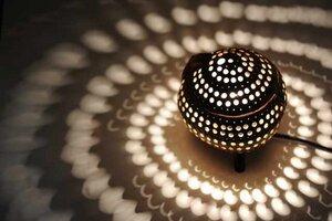 Kokosnusslampe stehend - home on earth