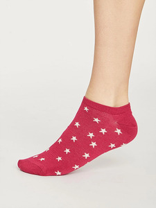 Starry Trainer Bamboo Socks - Thought
