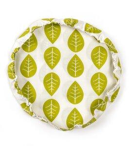 Schüsselabdeckung XL, grüne Blätter - nuts innovations