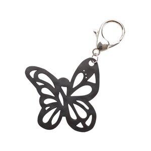Papillon umweltfreundlicher veganer Schlüsselring aus recyceltem Kautschuk - Paguro Upcycle